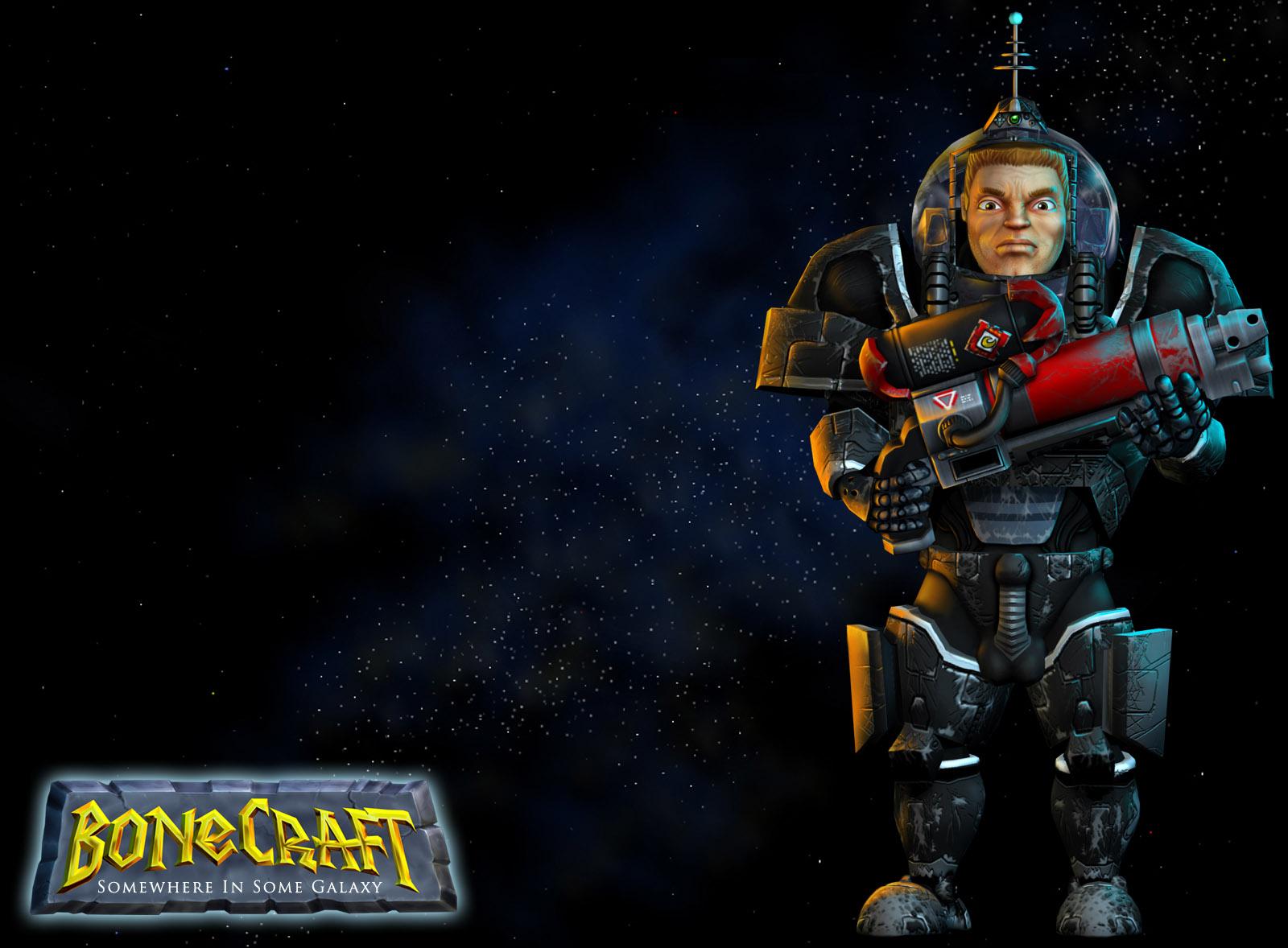 BoneCraft Space Wrangler Wallpaper