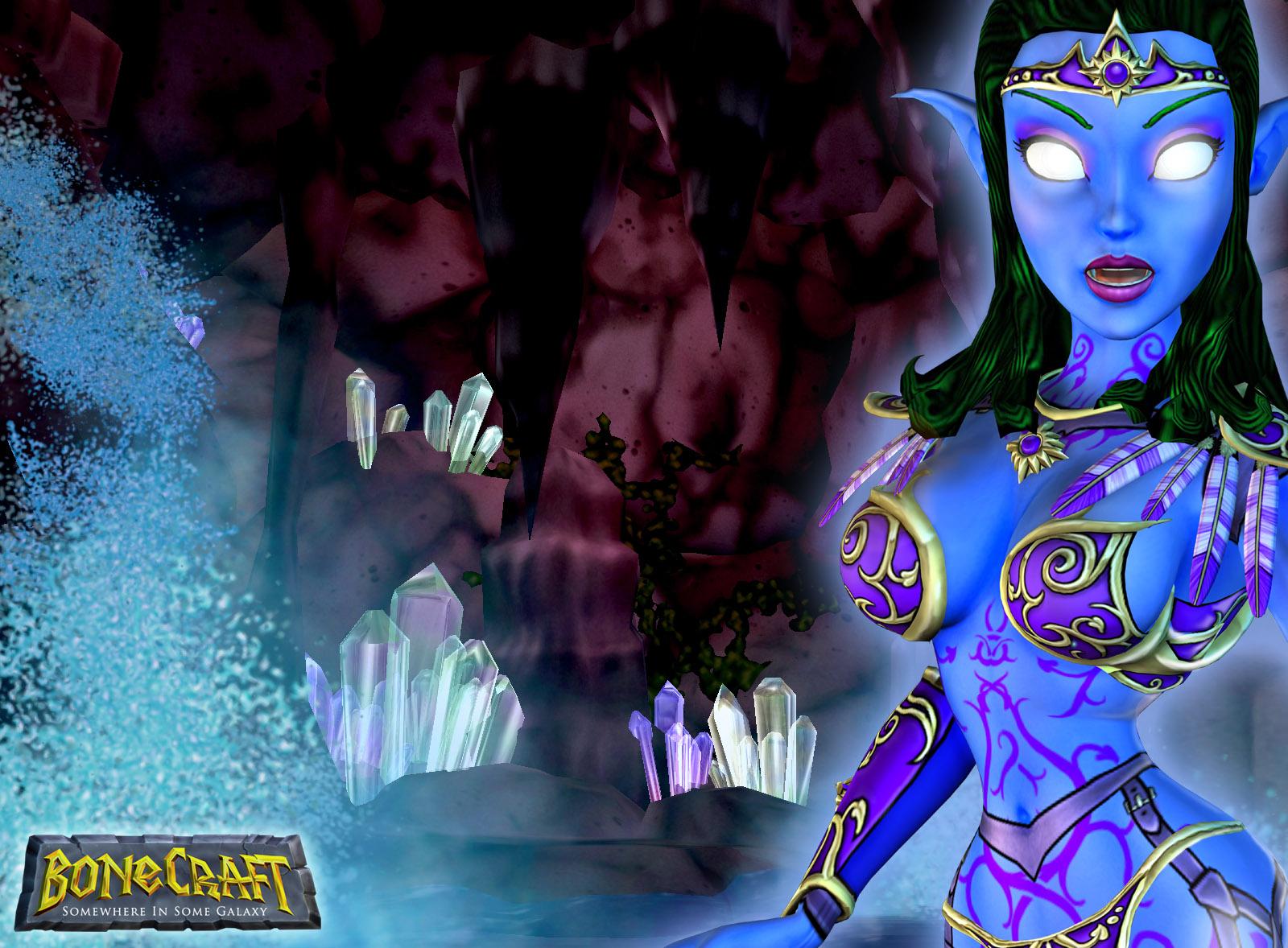 BoneCraft Elf Wallpaper 2
