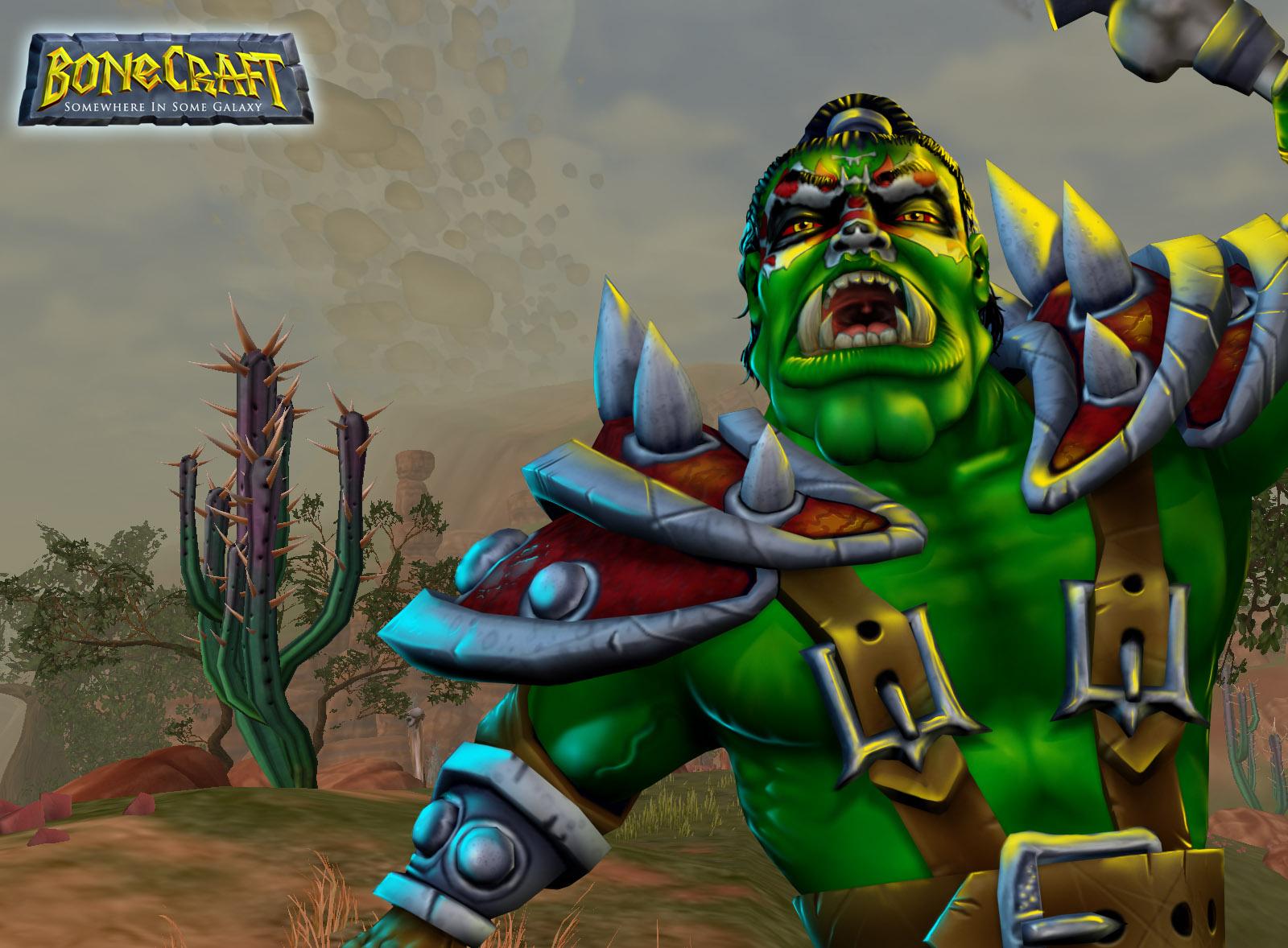 BoneCraft Orc Wallpaper 2
