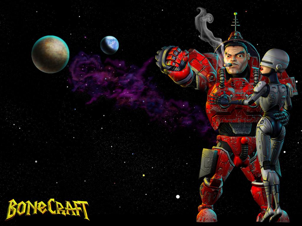 BoneCraft RoboHo Wallpaper
