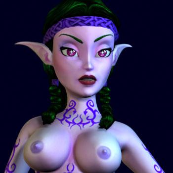 Pink Elves in BoneCraft