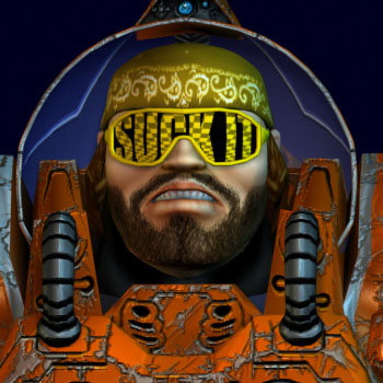 Macho Space Wrangler in BoneCraft