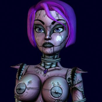 BoneCraft Characters - FoxBot from BoneCraft