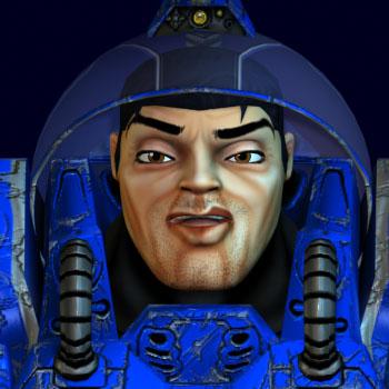 Sly Space Wranger in BoneCraft