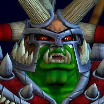 Orc Warboss Swampass in BoneCraft