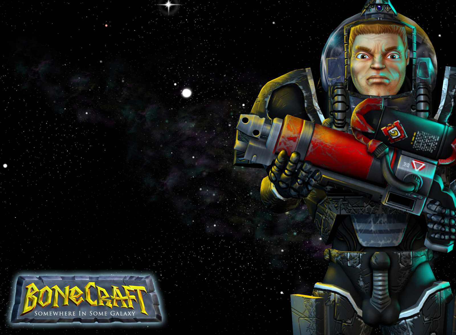 BoneCraft Space Wrangler Wallpaper 2